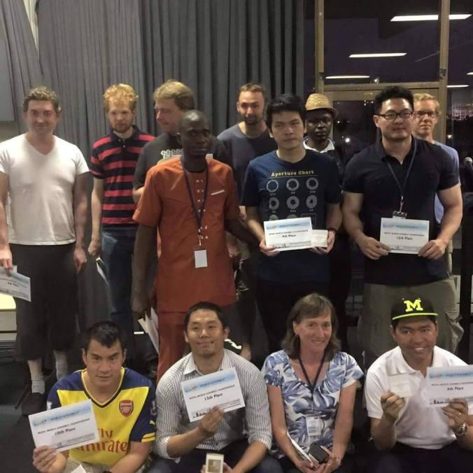 Prizewinners of 2015 WSC in Perth